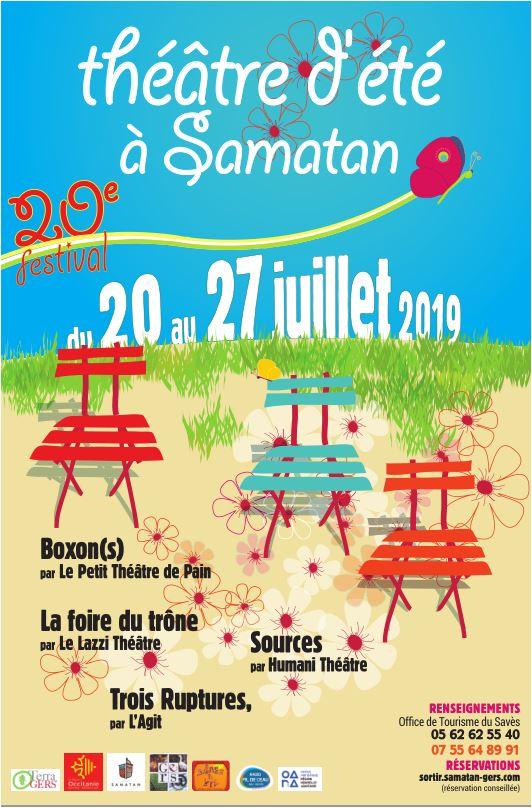 Festival Théâtre d'Eté